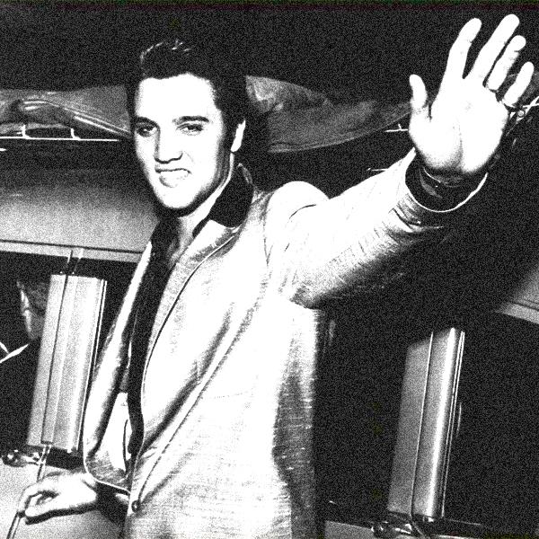 Elvis Presley says 'Hello'