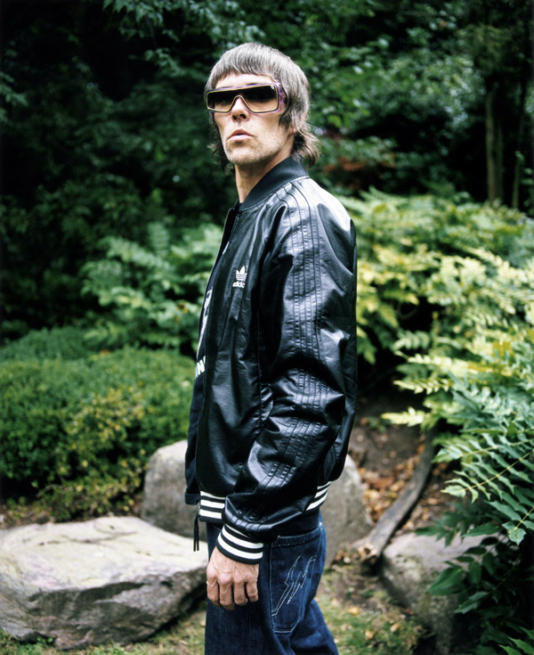 Ian Brown, lead singer of The Stone Roses